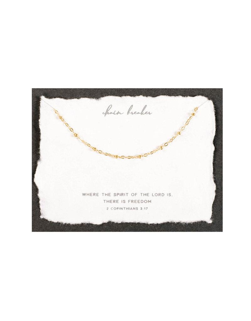 Dear Heart Chain Breaker Necklace