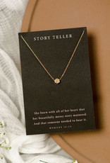 Dear Heart Story Teller Necklace