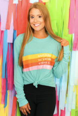 Jadelynn Brooke Always Believe Long Sleeve Tee