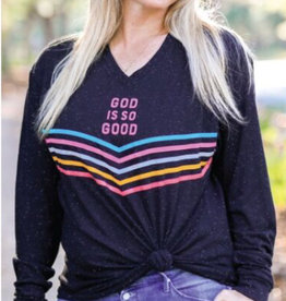 Jadelynn Brooke God Is So Good Long Sleeve Tee