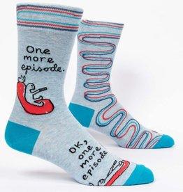 Blue Q One More Episode Men's Socks