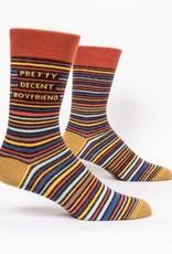 Blue Q Pretty Decent BF Men's Socks