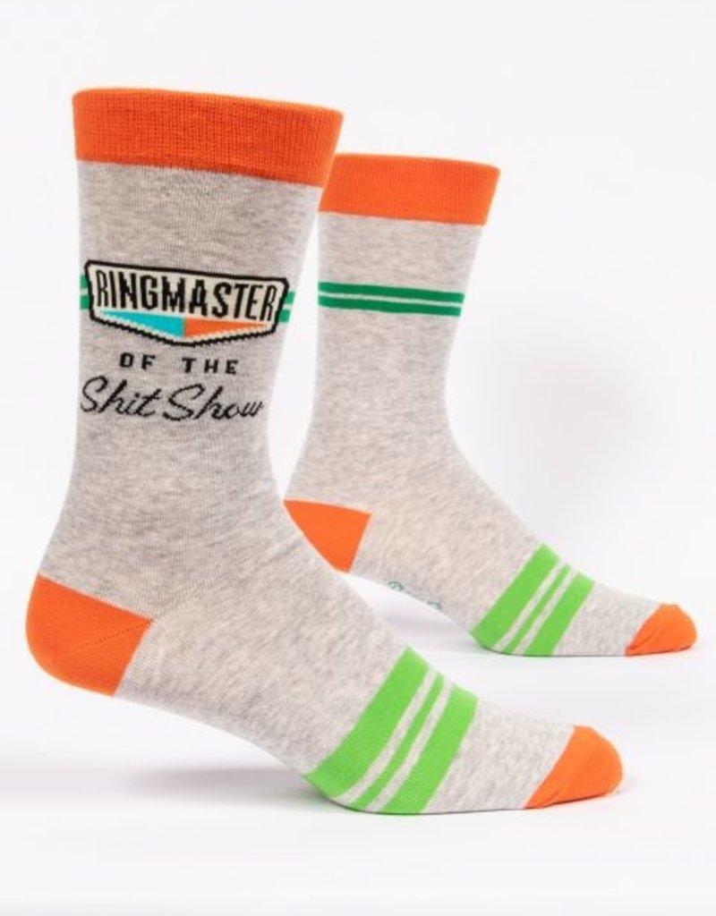 Blue Q Ringmaster Shitshow Men's Socks