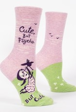 Cute But Psycho Crew Socks