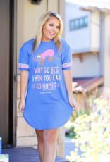 Jadelynn Brooke Why Go Big Sloth Sleepshirt