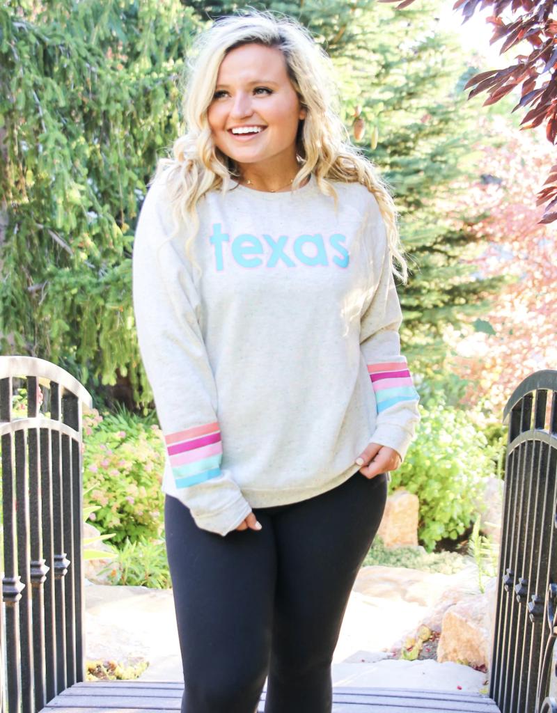 Jadelynn Brooke Texas Funfetti Sweatshirt