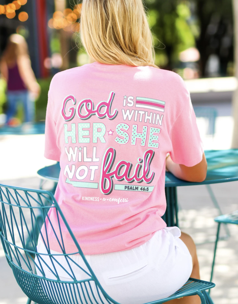 Jadelynn Brooke God Is Within Her Tee