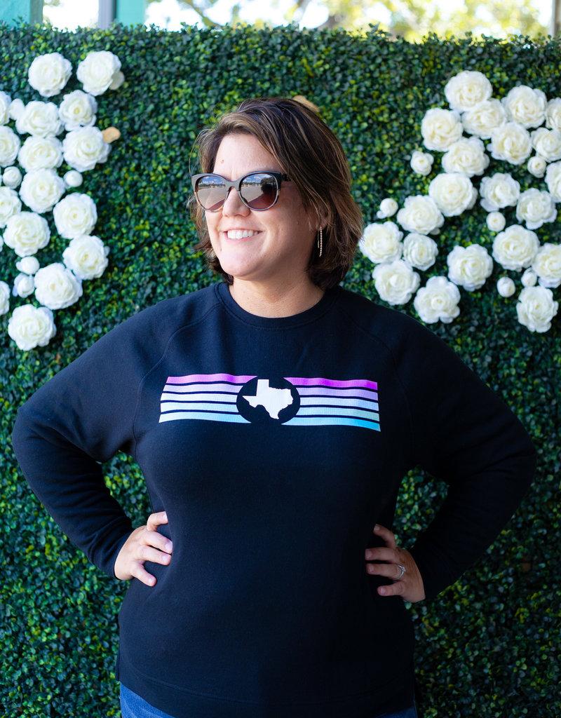 Jadelynn Brooke Texas Rainbow Sweatshirt