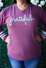 Jadelynn Brooke Grateful Long Sleeved Tee