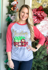 simply southern Oh Christmas Tree Truck Tee