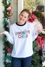 Jadelynn Brooke Favorite Child - Long Sleeve Tee