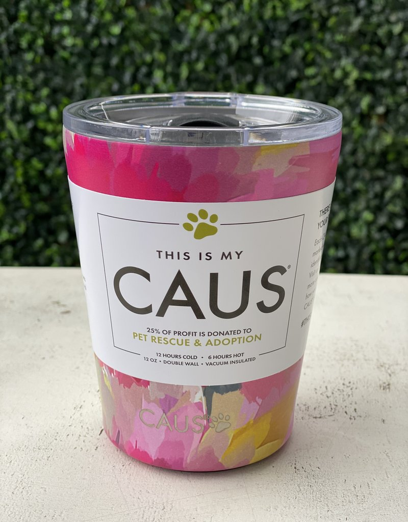 Caus Caus Coffee Tumbler Watercolor Flower