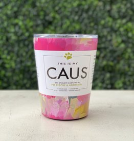 Caus Caus Coffee Tumbler Watercolor Flower