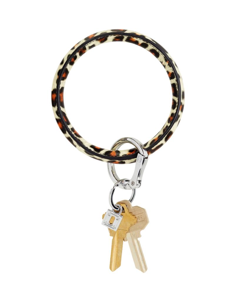 O Venture Leather O-Ring Cheetah
