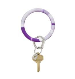 O Venture Silicone O-Ring Deep Purple Marble