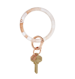O Venture Silicone O-Ring Rose Gold Marble