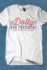 Southern Fried Design Dolly For President Tee