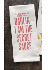 Southern Fried Design Listen Here Darlin' Kitchen Towel