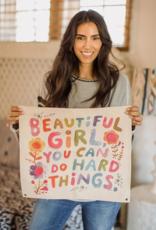 Beautiful Girl Wall Hanging