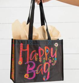 Natural Life Black Magenta Gold Happy Bag