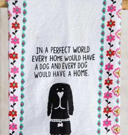 Perfect World Dog Towel