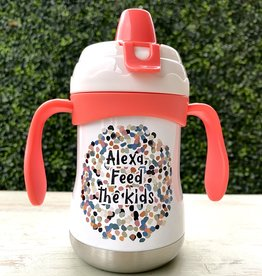 Pure Drinkware 9oz Sippy Cup Alexa Feed the Kids