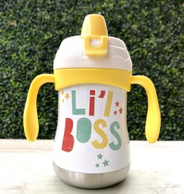 Pure Drinkware 9oz Sippy Cup Li'L Boss