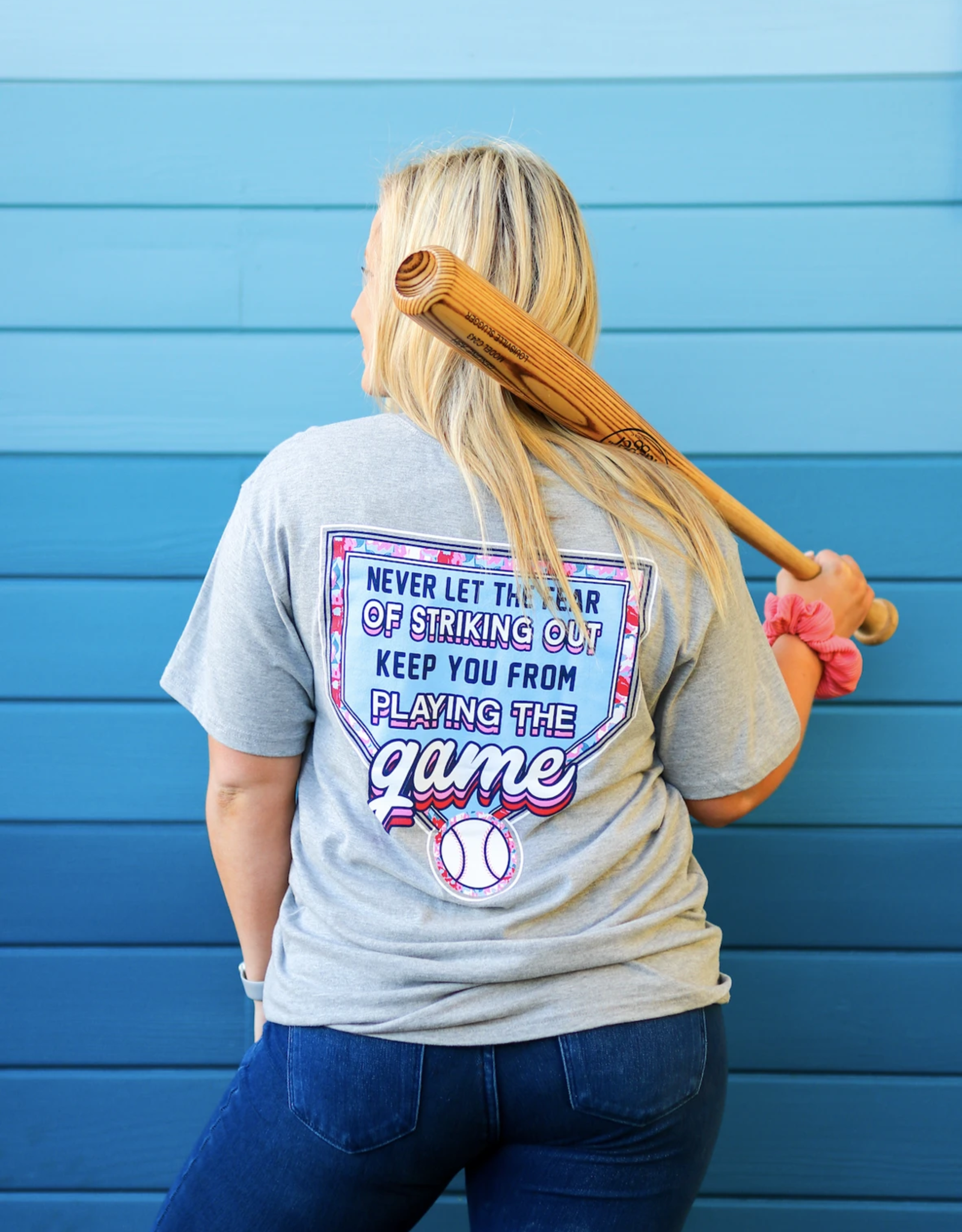 Fear of Striking Out Tee
