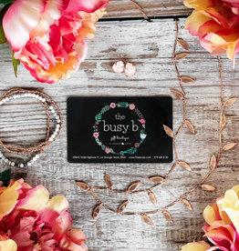 busy b $75 Gift Card