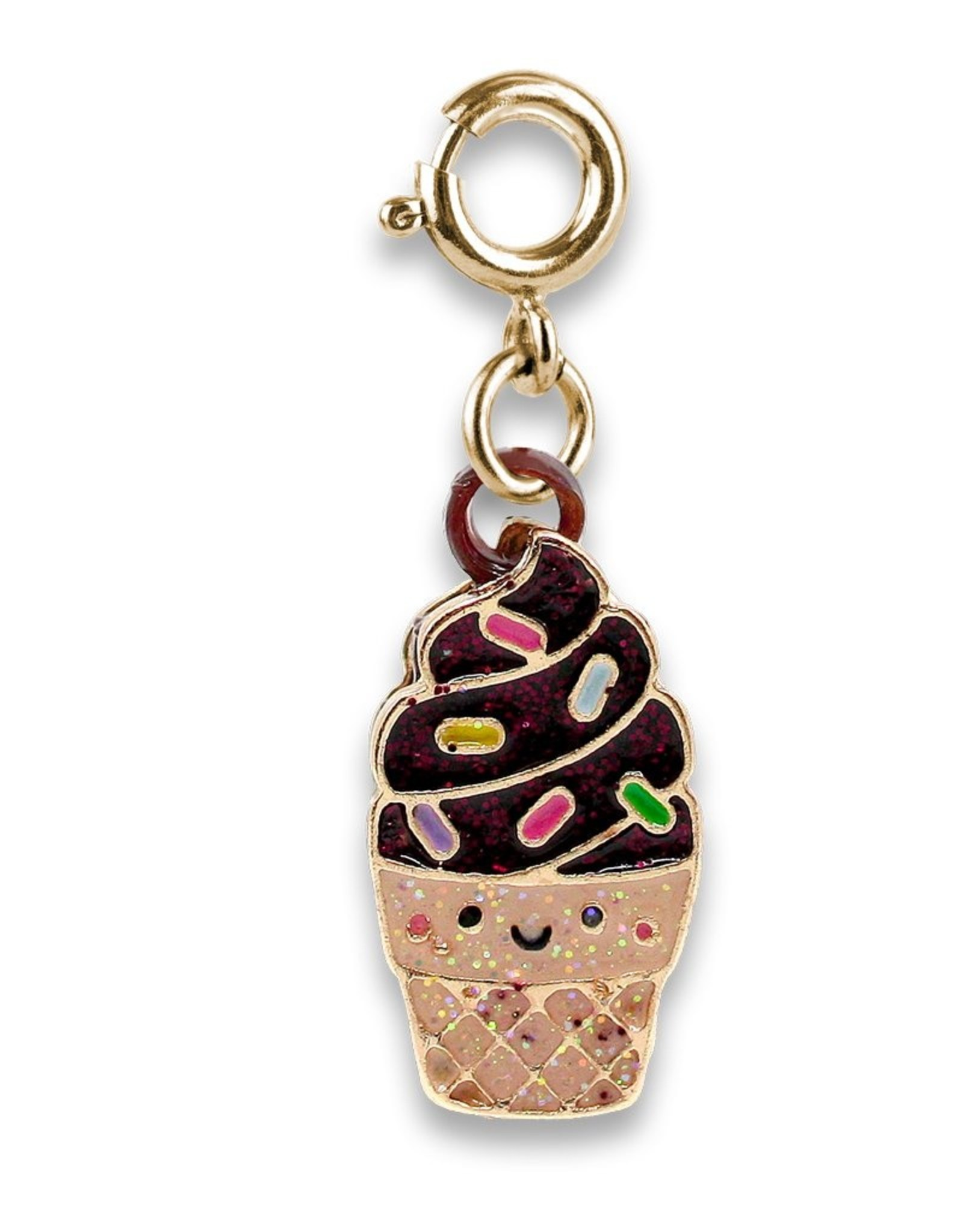 Chocolate Scented Ice Cream Cone Charm