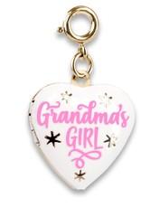 Gold Grandma's Girl Locket Charm