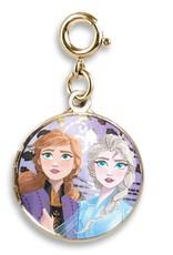 Gold Anna & Elsa Locket Charm
