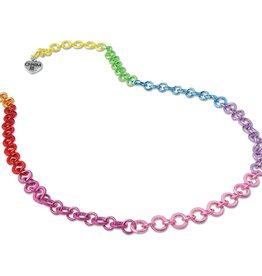 High Intencity Rainbow Chain Necklace