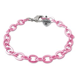 High Intencity Pink Chain Bracelet