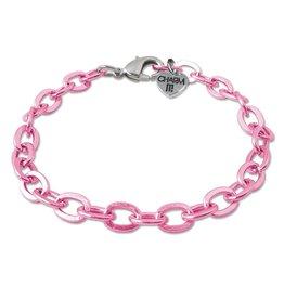 Pink Chain Bracelet