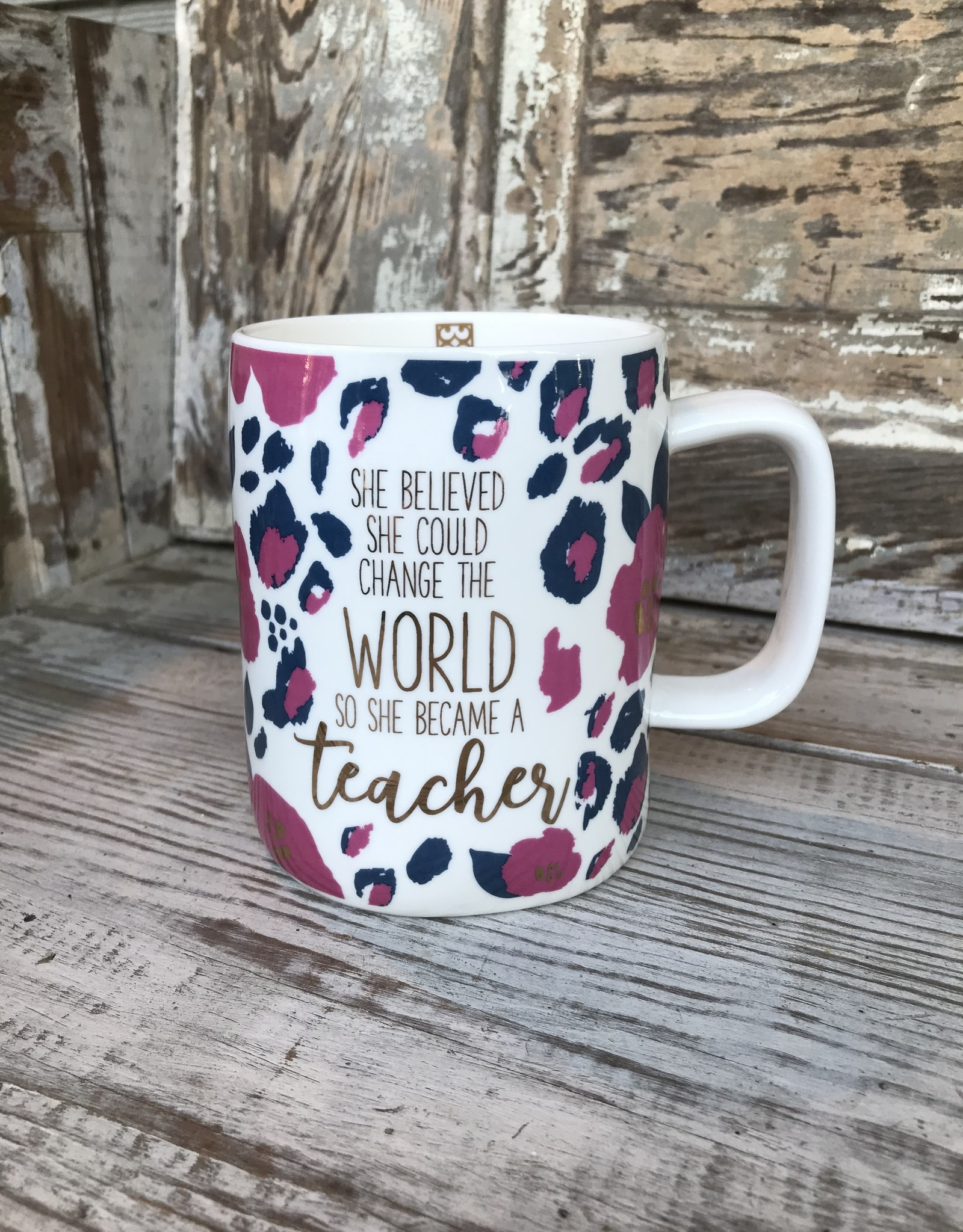Became A Teacher Mug