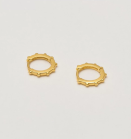Estella Bartlett Gold Graduated Huggy Earrings