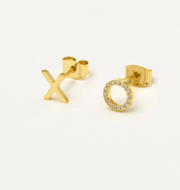 Estella Bartlett XO Gold Earrings