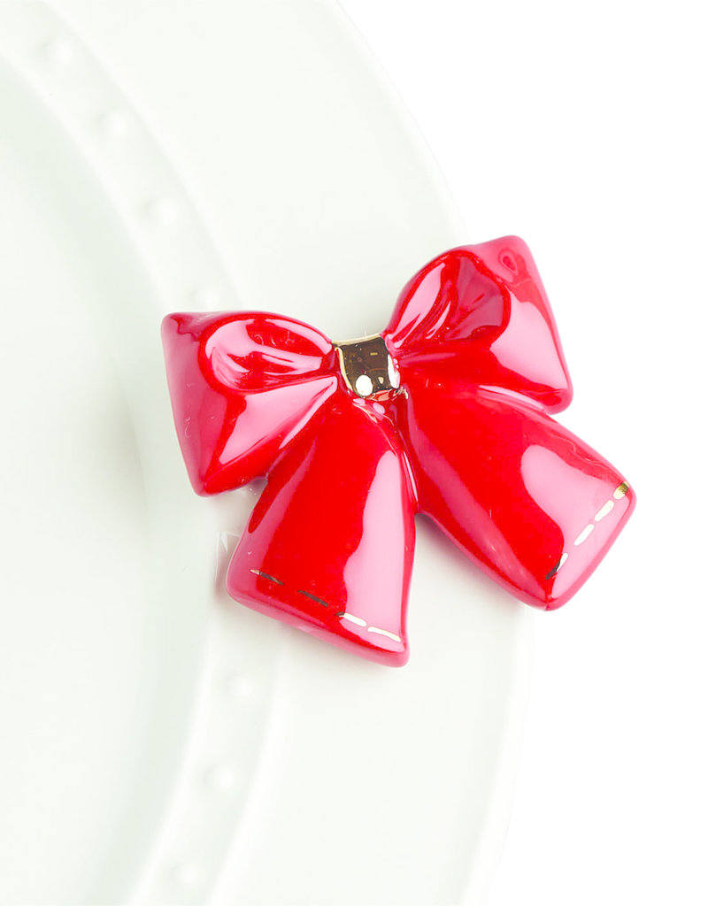 nora fleming Red Bow Mini A238