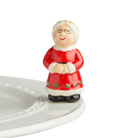nora fleming Mrs. Claus Mini A240