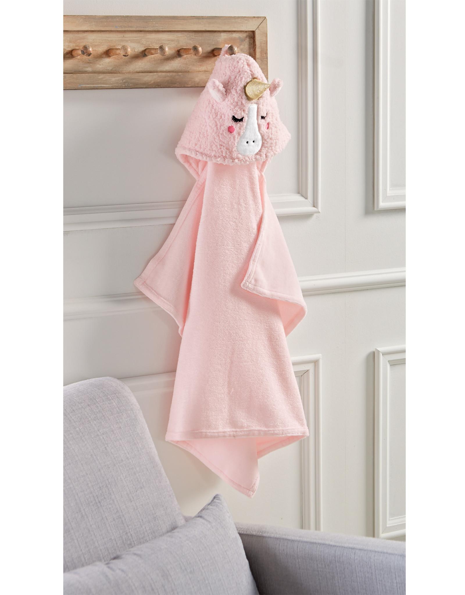 Mudpie Baby Unicorn Hooded Towel