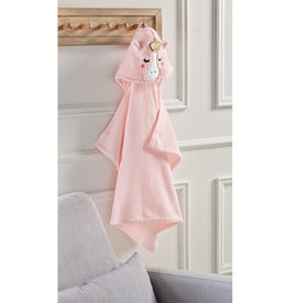 Mudpie Baby Unicorn Hooded Towel