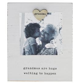 Mudpie Grandpa Heart Magnet Frame