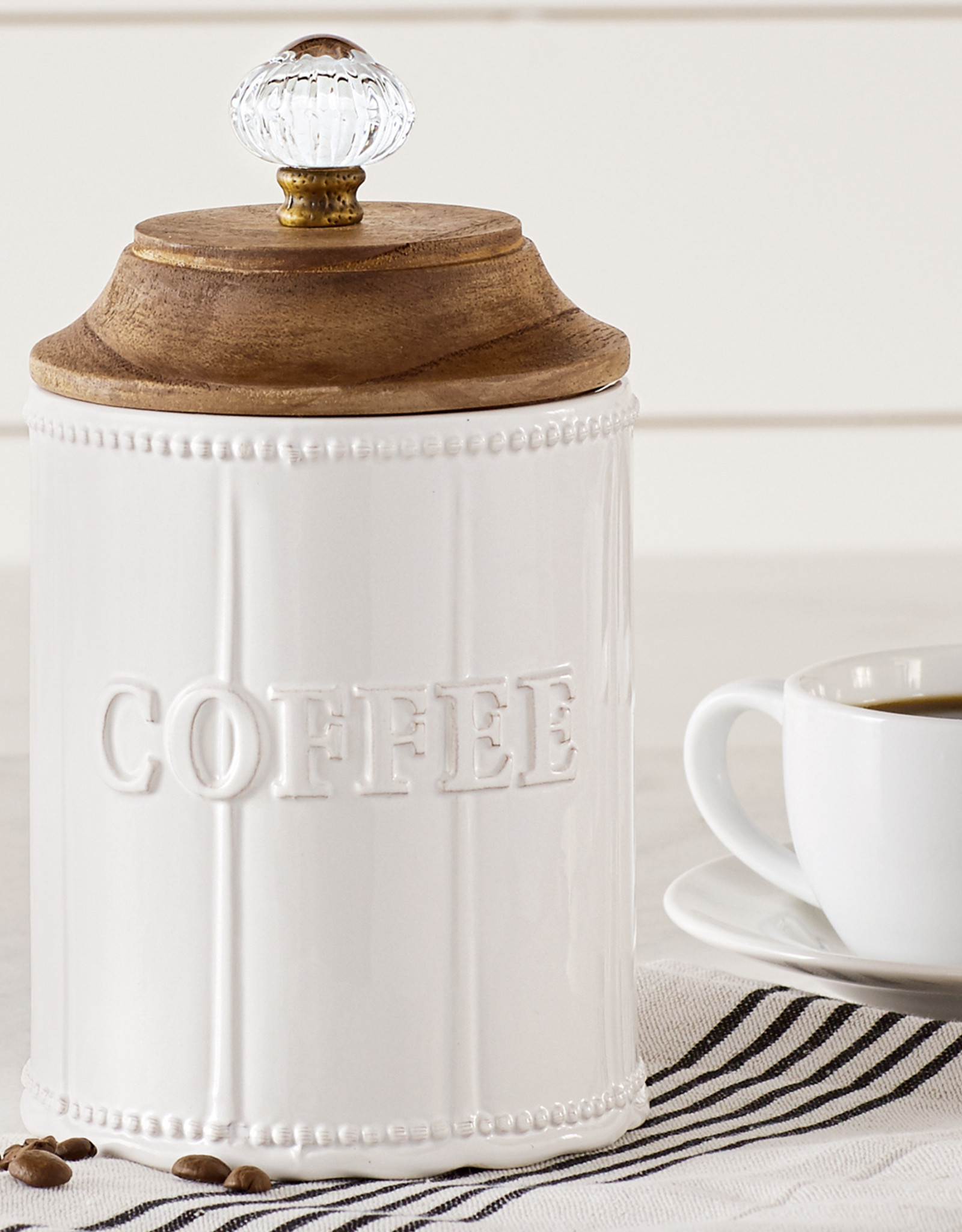 Mudpie Door Knob Coffee Canister