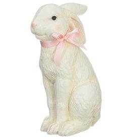 RAZ Imports Standing Bunny w/ Pink Bow