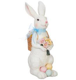 RAZ Imports Standing Rabbit w/ Basket