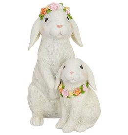 RAZ Imports Two Rabbits Figurine