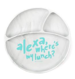 Bella Tunno Alexa Where's My Lunch Wonder Plate