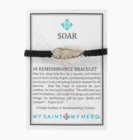 my saint my hero Soar Remembrance Bracelet