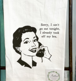 southern sisters Can't Go Out Towel